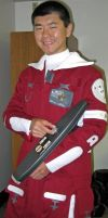 TWOK Field Jacket and Custom TWOK Phaser Rifle by galaxy1701d