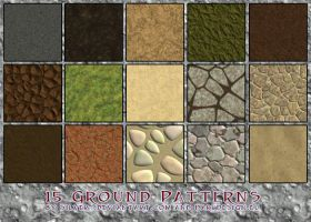 Ground Texture Patterns by silver-