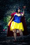 Snow White Cosplay- One bite by AlyChuCosplay