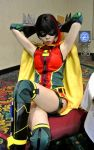 Ame-Comi Robin: Comic Expo Pin-Up by kay-sama