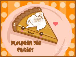-: Pumpkin Pie Cutie :- by Cherry-Fizzle