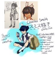 OC Concept for New School RP Group by Prismshard