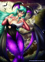 Morrigan Aensland by Xiraus