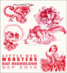 Little Red Monsters by Kat-Nicholson
