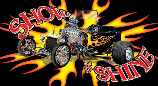 Show N' Shine T-Bucket by rjonesdesign