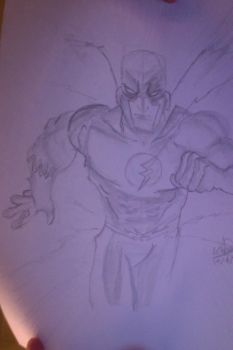 Flash (Wally West) by Karantheartist