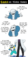 Sans on Video Games by SimonSoys