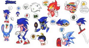 Powerups for Sonic by General-RADIX