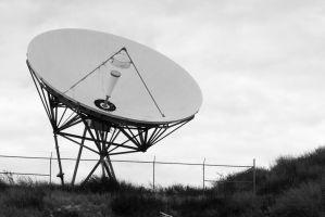 Dish BW by FellowPhotographer