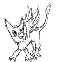 2 minute Baby Griffin Sketch by Kaze-Kai
