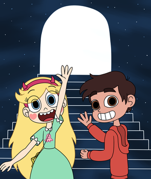 Star and Marco will see you on this November by Deaf-Machbot