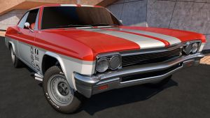 1966 Chevrolet Impala SS Sport Coupe by SamCurry