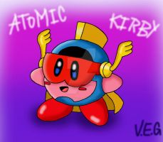 Atomic Kirby by VOLTAREVILGIRL