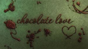 Chocolate love Wallpaper by aleexdee