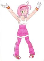 Amy Rose Rider by animequeen20012003