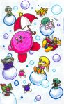 Bubble Time by gerugeon