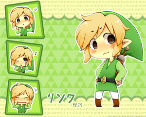 .: WW Link Wallpaper :. by PepperMoonFlakes