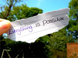 Everything is Possible by Atom001