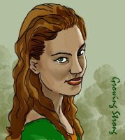 Margaery Tyrell by crisurdiales