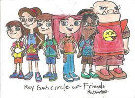 Rachel's Circle of Friends by RedJoey1992