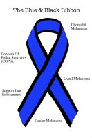 The Blue And Black Ribbon by ryu-ren