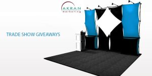 Trade show giveaways by akranmarketing
