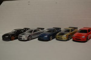 All the R34 Skylines by CSX5344