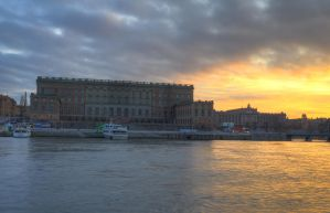 An Evening on Skeppsholmen by HenrikSundholm