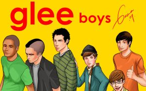 Glee boys by Romax25