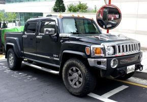 Hummer H3 Pickup Truck by toyonda