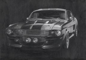 Shelby Mustang GT500 by CoolGAlien