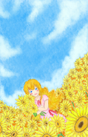 Coloring__Sunflowers_Xavia by zerou