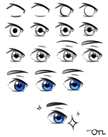 Lame Eye Tutorial by w8n