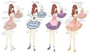 Prom dress DESIGNS by princessmikan