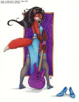 The Queen of Rock by Art-of-Sekhmet