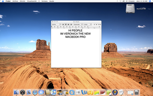 Veronica: My new MacBook Pro by dark-mac