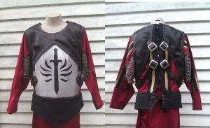 Knight-Captain Cullen's cuirass for a cosplay WIP by tatjna