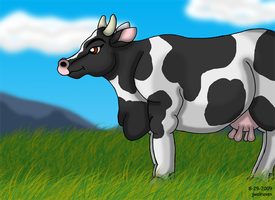 Moo Cow by JwalsShop