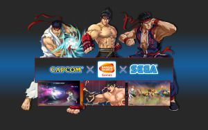 Project X Zone - Fighters - Wallpaper by iFab