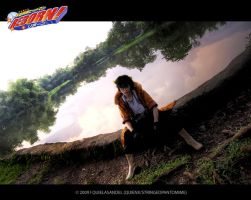 COSPLAY:25 YR OLD LAMBO by stringedpantomime