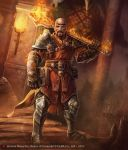 Bartolo, Priest of Flame by Trefle-Rouge