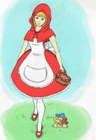 Little Red Riding Hood by LacernellaRubra