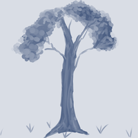 lonely tree's existence by Pemiru