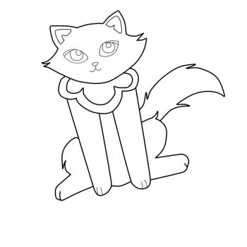 Sagwa the chinese siamese cat favourites by kuroneko369 on for Sagwa coloring pages