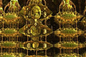 The Holy Bulbs Cathedral (detail ) 2 by PhotoComix2