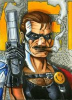 Comedian PSC, Watchmen 5 of 6 by RichardCox