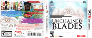 Unchained Blades NA 3DS Boxart mock-up by DPghoastmaniac2