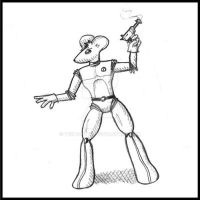 Early Spacemouse9 Sketch by Tektonten