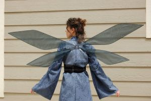 Kirito wings for Cosplay by FairyberryBlossoms