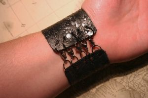 Leather Cuff Connection by turnerstokens